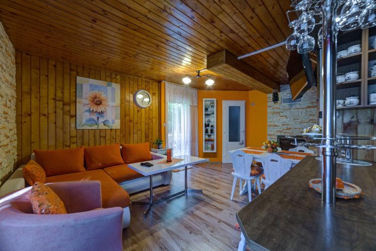 Romanticka chata Liptovský Ján z kuchyne