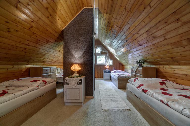 Romanticka chata Liptovský Ján velka izba