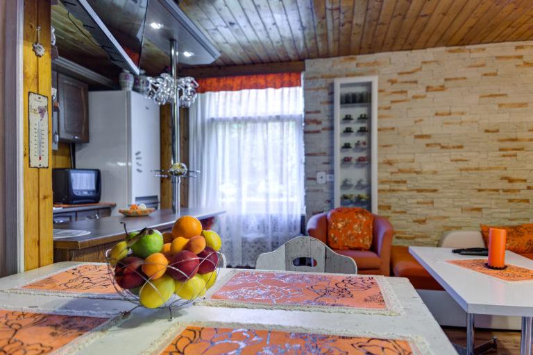Romanticka chata Liptovský Ján ovocie