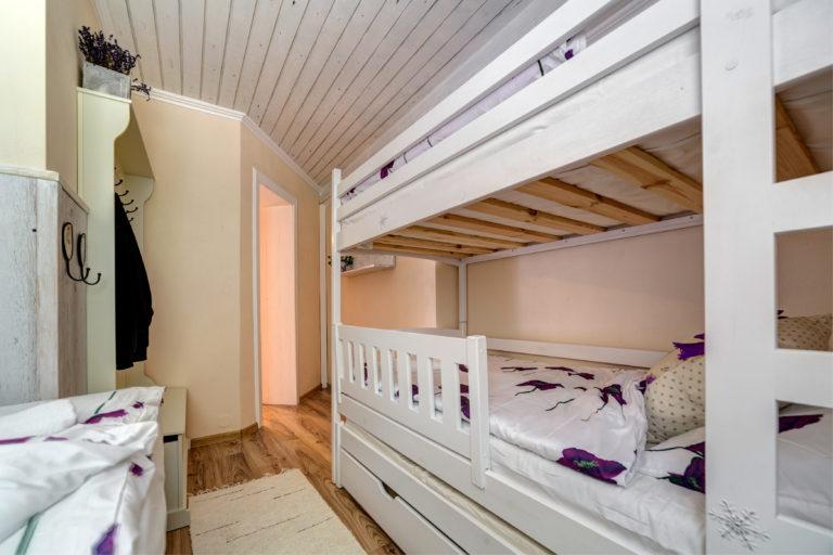 Romanticka chata Liptovský Ján provance postele
