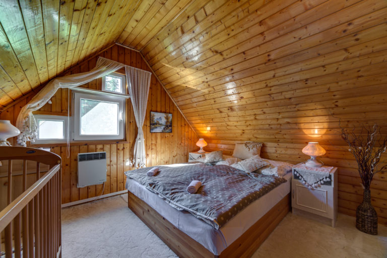 Romanticka chata Liptovský Ján romanticka izba